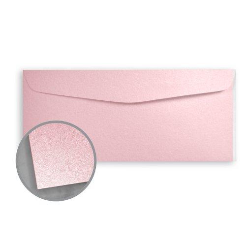 Stardream Rose Quartz Envelopes - No. 10 Commercial (4 1/8 x 9 1/2) 81 lb Text Metallic C/2S 500 per Box