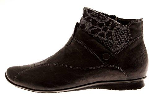 THINK Chilli 3-83116 Damen Boots Schwarz