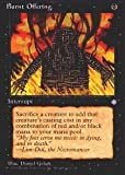 Magic: the Gathering - Burnt Offering - Ice Age