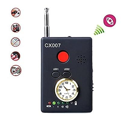 EPTEK@ Detector de señal inalámbrico Detector de RF Detector de errores GPS GMS Buscador de