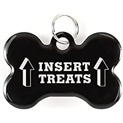 Dynotag Web Enabled Super Pet ID Smart Tag with DynoIQ & Lifetime Recovery Service. Play Series: Bone (Insert Treats)