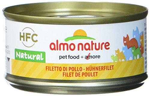 Almo Nature Katzenfutter HFC Natural – Hühnerfilet 24×70 g