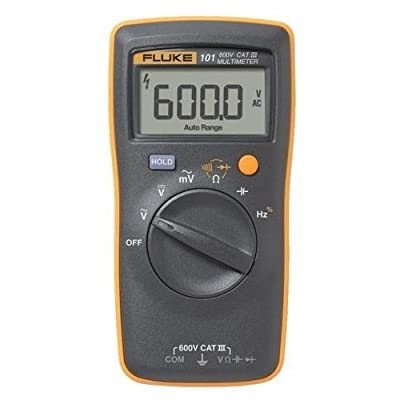 Fluke 101 Basic Digital Multimeter Pocekt Portable Meter Equipment Industrial + free gift