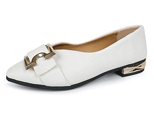 chaussures femmes talons white et chaussures sport chaussures printemps simple des de ceinture chaussures de à de avec épais en chaussures d'automne boucle Px1rwR0qP