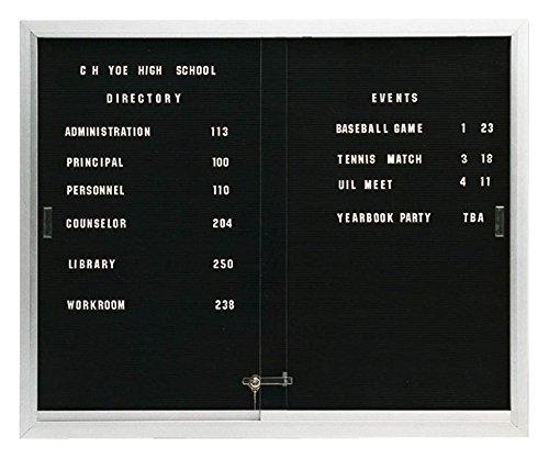 Cheap 2 Sliding Door Standard Directory Board Cabinet (36 in. W)