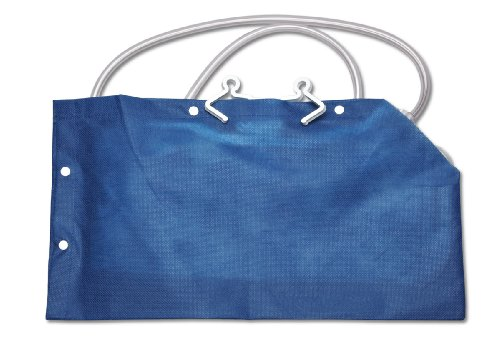 Medline DYND15200LOW Urinary Drain Bag Covers, Low Bed, Fabric, Latex Free, Blue (Pack of 20) by Medline (Image #1)