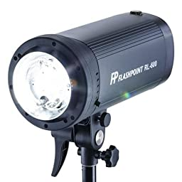 RoveLight 600 Ws Monolight with On Board Power (Flashpoint Mount)