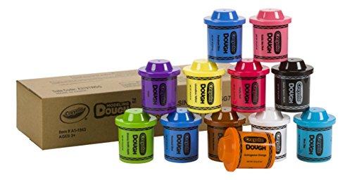 Crayola Dough (12 pack), 2 oz (Amazon Exclusive) JungleDealsBlog.com