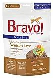 Bravo Bonus Bites Freeze Dried Venison Liver, 3-Ounce