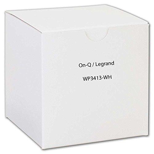 LEGRAND WP3413WH DECOR OUTLET STRAP 3 PORT ()