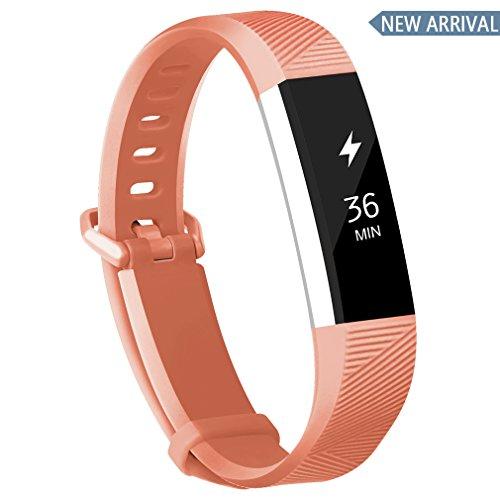 POY Compatible Bands Replacement for Fitbit Alta/Fitbit Alta HR, Adjustable Sport Wristbands for Women Men