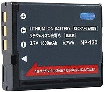 BPX NP-130 NP130 - Batería de Ion de Litio para Casio Exilim EX-10 EX-ZR500 EX-ZR850 EX-ZR1200 EX-ZR1500: Amazon.es: Electrónica
