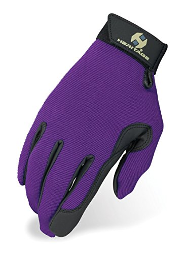 Heritage Performance Gloves, Size 4, Purple