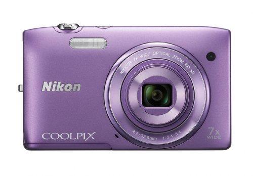 Nikon COOLPIX S3500 20.1 MP Digital Camera with 7x Zoom (Purple), Best Gadgets