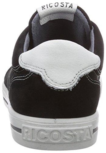 Ricosta Roy - zapatillas deportivas altas de piel niño negro - Schwarz (schwarz 093)