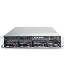 Supermicro SuperServer SYS-6027R-WRF Dual LGA2011 740W 2U Server Barebone System (Black)