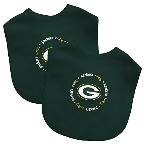 Baby Fanatic Team Color Bibs, Green Bay Packers, 2-Count]()