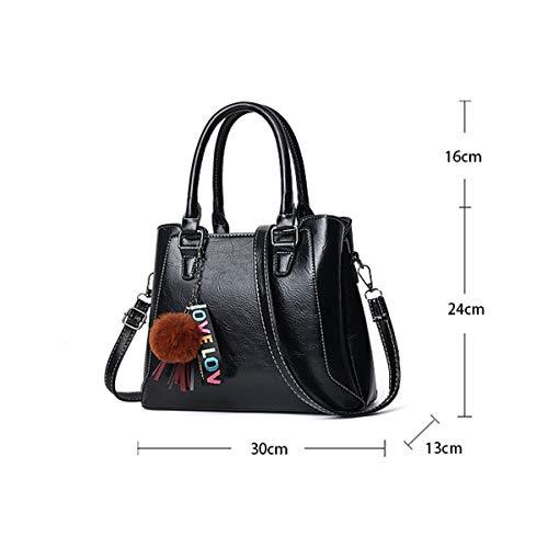 Pelle 92096 Grande Spalla Tote Shopper Sacchetto Shopping Capacità Per Exull A Donna Pink Borsa Lavoro Ufficio Pu Mano Bag Viaggio Borse tv0qcgw