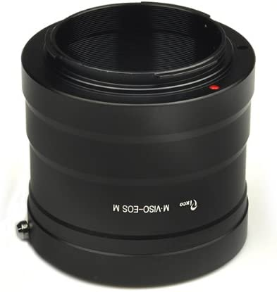 M EF-M EOS-M Mirrorless Camera Adapter Canon M50 M6 M5 M10 M3 M2 Pixco Lens Adapter for Leica M VISO Lens to Canon EOS M2
