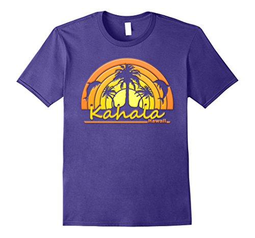 Mens Kahala, Hawaii Dolphins, Palm Trees, Sunset Tshirt 3XL - Kahala Hi