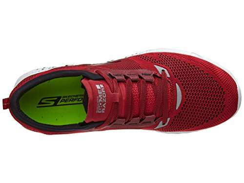 Skechers MEB Go Red Black Red Skechers Black Skechers Mens Mens Razor Go Razor MEB 2 2 wx8Iq