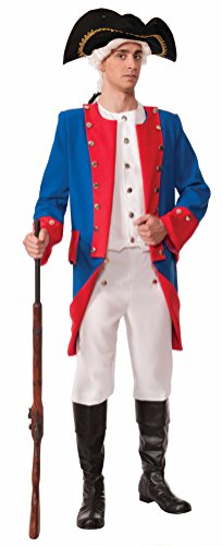 (Forum Novelties Men's Patriotic Party Deluxe Colonial General Costume, Multi, One)