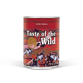 Diamond Pet Foods AS-8611454 13.2 oz Taste of The Wild Southwest Canyon Canine Formula Stew Canned Dog Food 12 cans of 13 onz