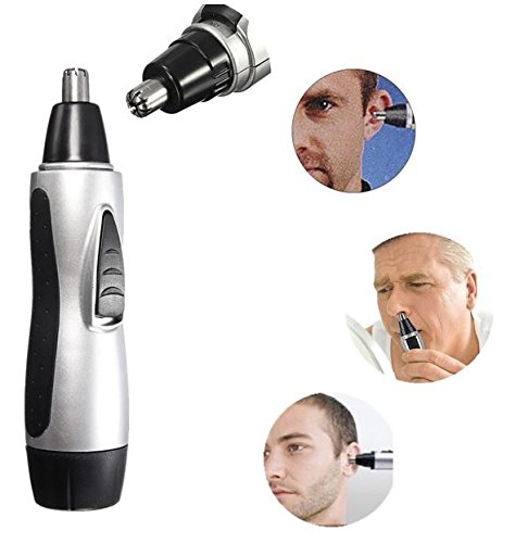 MD Group Electric Nose Ear Face Hair Trimmer Remover Shaver Clipper Cleaner