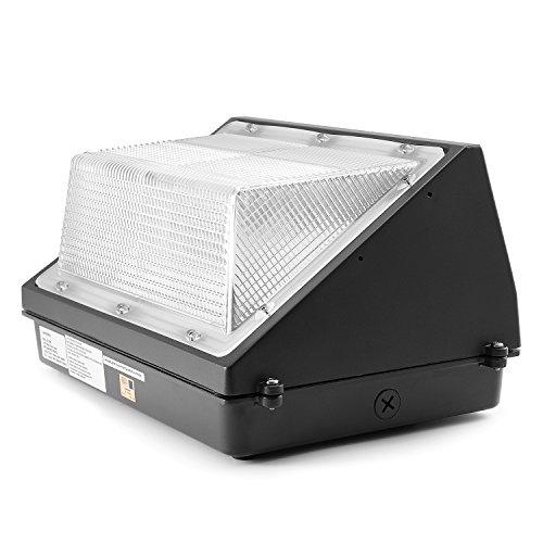 Camera Light Fixture: LED Wall Pack Lights,LuminWiz 45W 5000K Outdoor Lighting