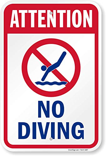Diving Sign -
