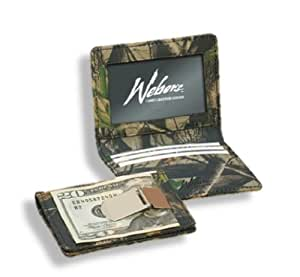 Realtree Leather Wallet Mens Camo Leather Front Pocket ID Wallet Money Clip HD