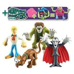 Scooby Doo - 4 Figura & Pack Morphing Monster