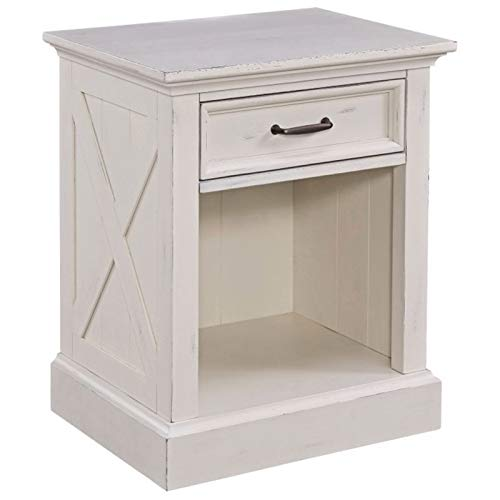 Seaside Lodge White Night Stand by Home Styles by Home Styles