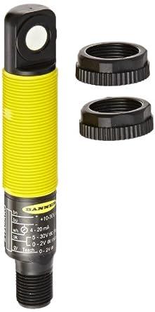 Banner S18UIARQ 18mm Barrel Ultrasonic Sensor, Right Angle Housing