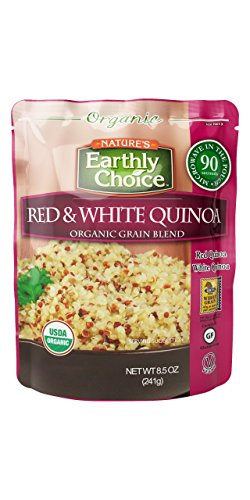 Nature's Earthly Choice Organic Grain Blend, Red & White Quinoa, 8.5 Ounce (Pack of 6) by Nature's Earthly Choice