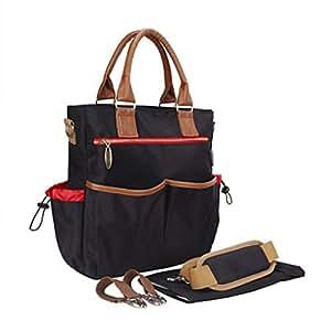 C-Xka Solo Hombro Lanzado Casual Multi-función Mummy Bag de Gran Capacidad Maternal Y Child Mujeres Embarazadas Hot Mom Travel Fashion Travel Light Handbag (Color : E)