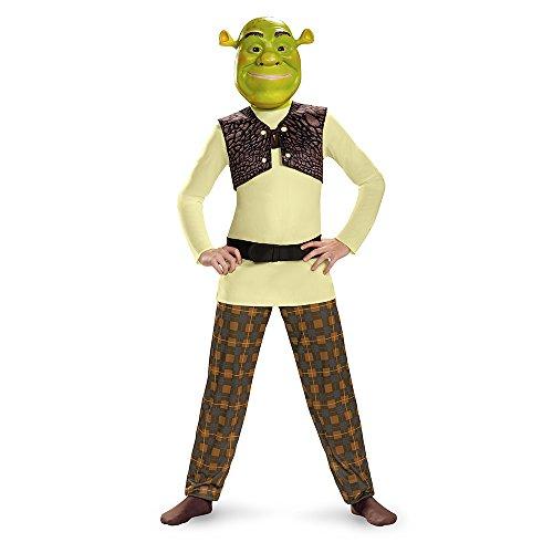 Disguise Shrek Classic Costume, Small (Shrek Costumes Child)