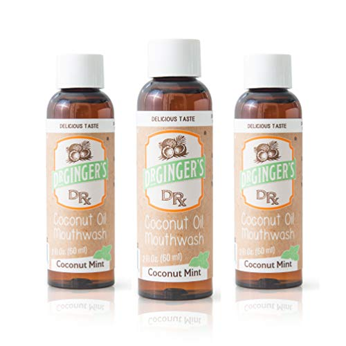 Dr. Ginger's Travel Size Oral Care (Coconut Oil Mouthwash)
