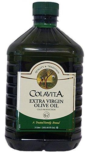 Colavita Extra Virgin Olive Oil (3 Liter), 101.4 fl ounce by Colavita