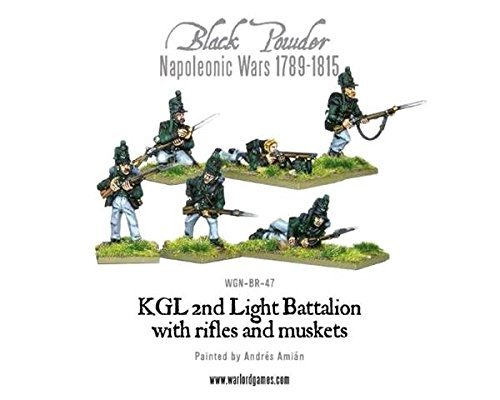 Black Powder, Napoleonic Wars, Kgl 2nd Light Battalion, 28mm Warlord Games