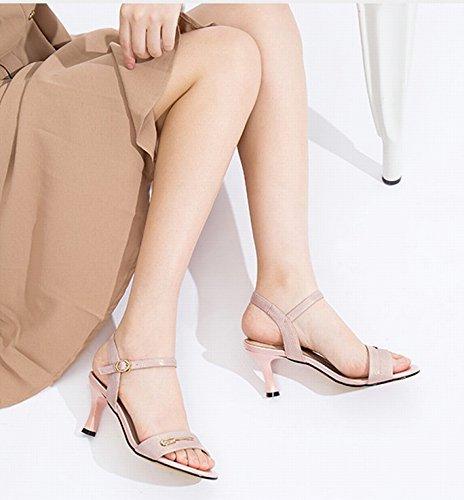 Mode Dididd Sandaler Op Tå Hæle Spændt 36 Stilethæl Pink Høje Kvinder qqwRnatP