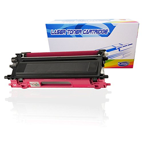 1 Inktoneram Replacement toner cartridges for Brother TN-115 TN115M Magenta TN-115M DCP-9040CN DCP-9045CDN MFC-9440CN MFC-9450CDN MFC-9840CDW MFC-9870CDW HL-4040CDN HL-4040CN HL-4050CDN (Brother Dcp 9045cdn Laser)