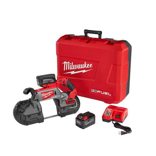 Milwaukee 272922HD M18 FUEL Deep Cut Band Saw Kit by Milwaukee