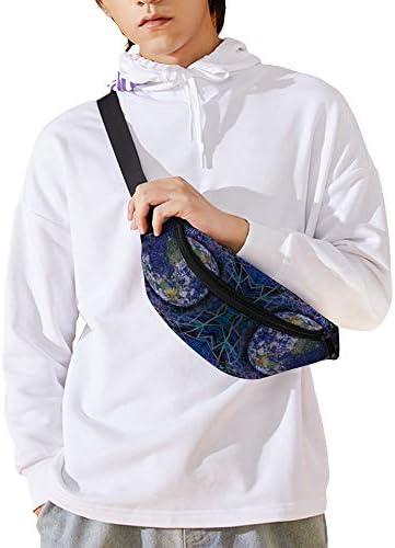 エーテル ウエストバッグ ショルダーバッグチェストバッグ ヒップバッグ 多機能 防水 軽量 スポーツアウトドアクロスボディバッグユニセックスピクニック小旅行