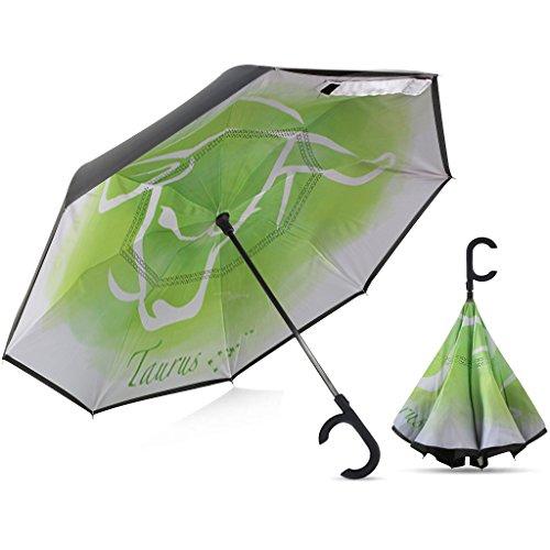 Broni Large Inverted Auto Umbrella | Taurus Zodiac