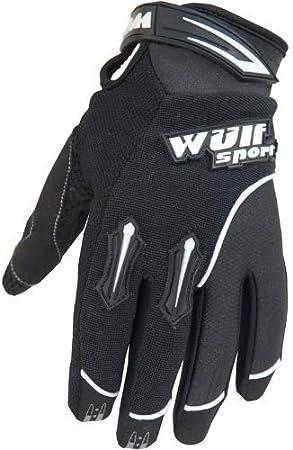 bleu Gants de moto cross pour adulte MX Stratos Wulfsport X Large 11cm