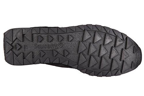 Saucony Herrenschuhe Herren Wildleder Sneakers Schuhe shadow original Schwarz