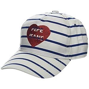 Pepe Jeans Girl's Stripes Jr Cap