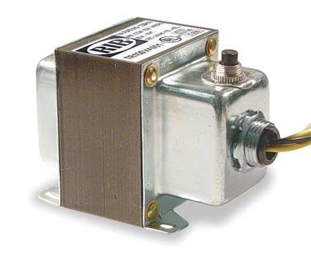 Functional Devices TR100VA001 Transformer 100Va 120 to 24 Vac Circuit Breaker Foot and Single Threaded Hub Mount [並行輸入品] B07N86L267