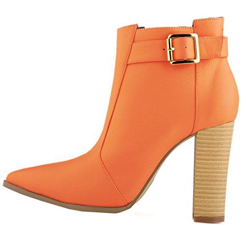 Azbro, Stivali donna arancione Size: EURO39/US8/UK6